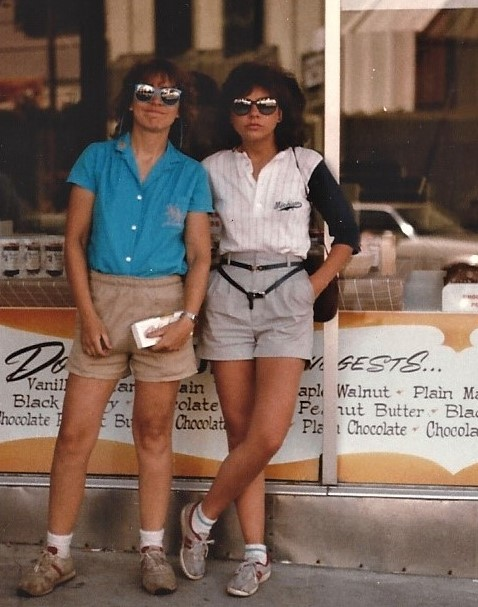 Heidi and Silvia Camping - 5-85